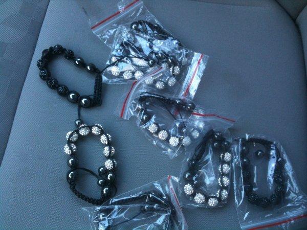 Shamballa bracelets 20euros