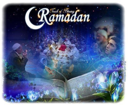 À tous mes amis musulmans ,  Je vous souhaite à toutes et à tous un très bon ramadan et bonne courage