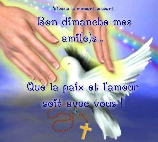Bon Dimanche !!