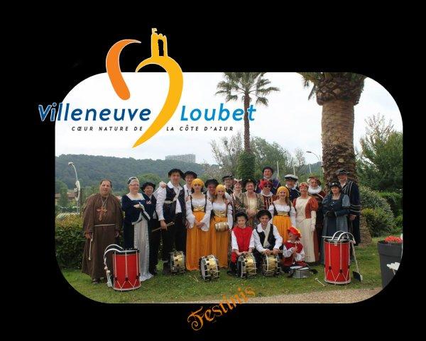P'tite représentation à Villeneuve Loubet du 7 au 10 juin 2013