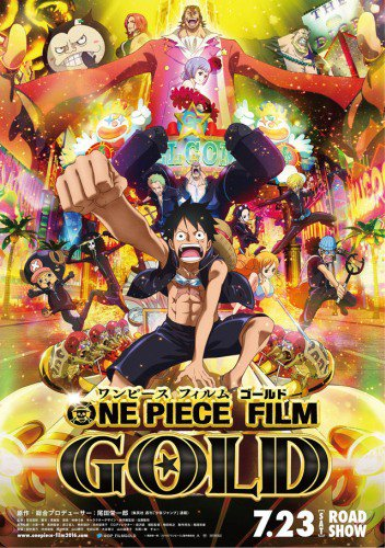 New Movies : One Piece Gold !!!!