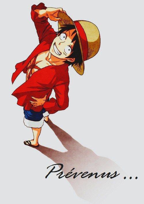 Prévenuuuu ... One Piece !!! ♥♥♥