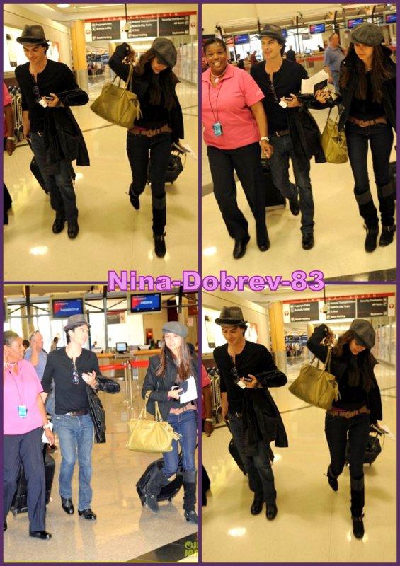 Nina et Ian partent pour New York