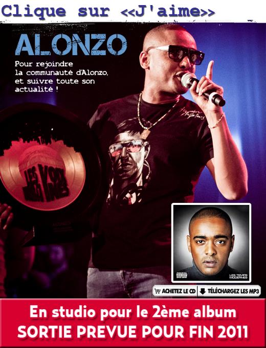REJOINS ALONZO SUR SA PAGE FACEBOOK OFFICIELLE