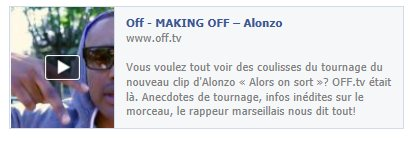 "MAKING OFF DU CLIP ""ALORS ON SORT.."""