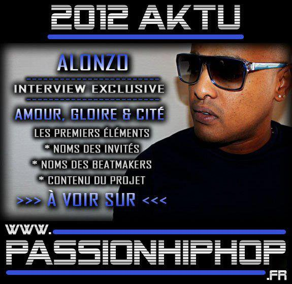 INTERVIEW D'ALONZO POUR PASSIONHIPHOP