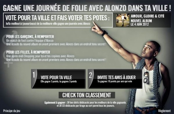 CONCOURS ALONZO