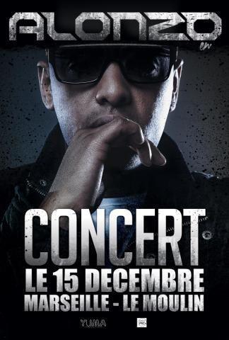 """Voici enfin la date de concert exceptionelle à Marseille RDV le 15 Décembre au """"MOULIN"""" pour Amour Gloire & Cité en live !!!"""