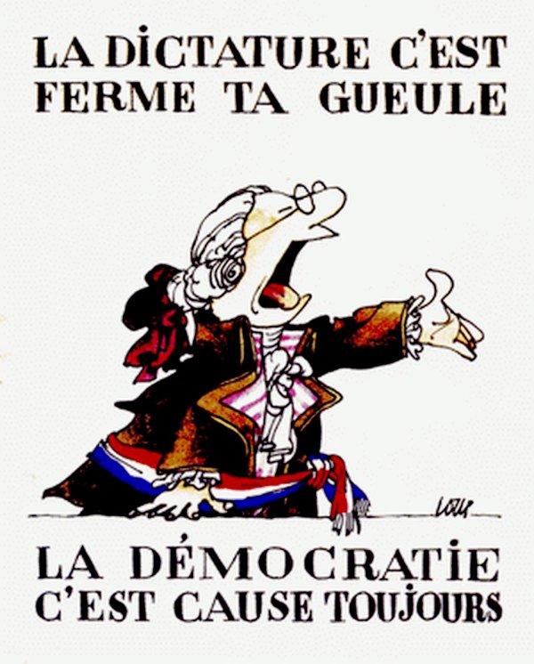 DICTATURE & DEMOCRATIE - A MEDITER