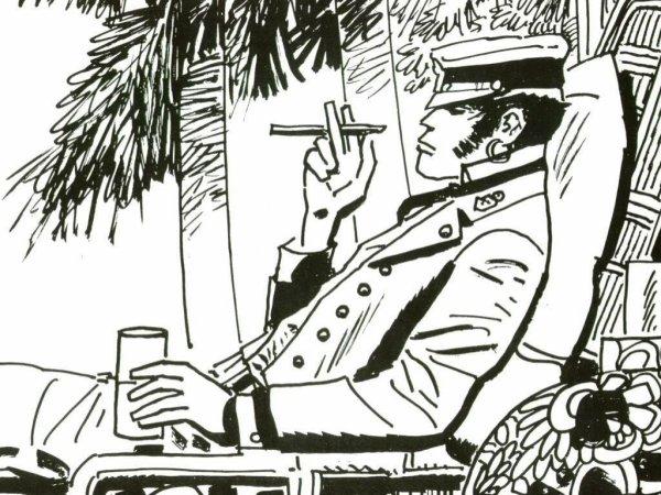 HOMMAGE A HUGO PRATT ET SON PERSONNAGE FETICHE CORTO MALTESE