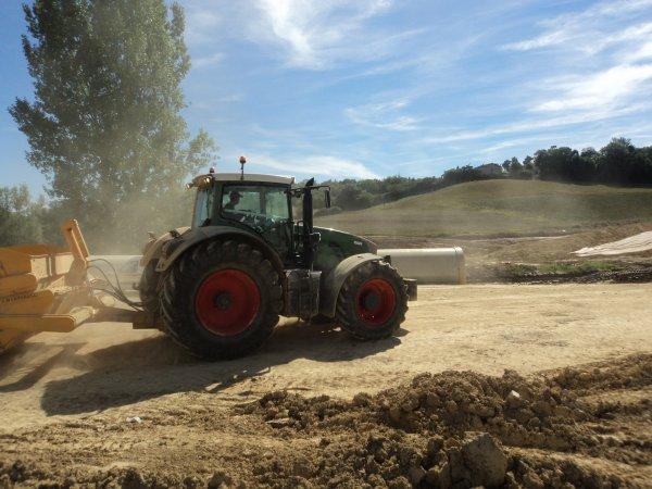 chantier rocade de Castres