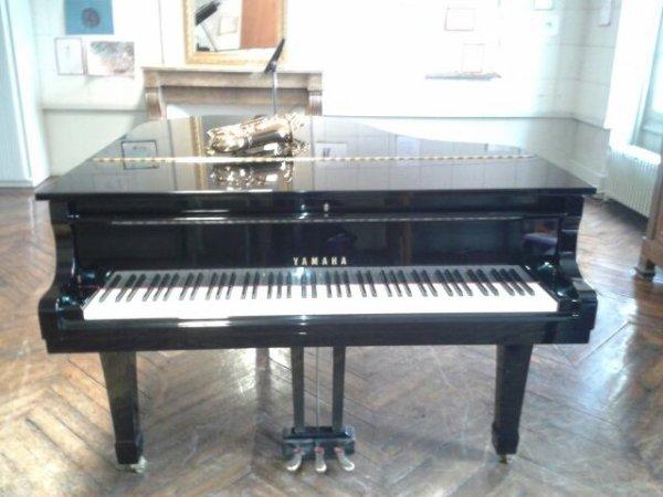 l'autre jour j'ai pu jouer sur ce piano