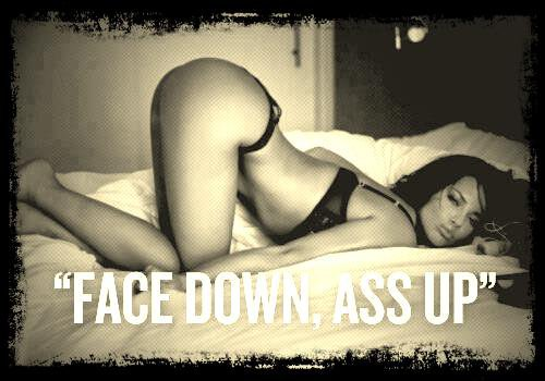 facedown ass up