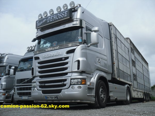 le scania 730 des transport dehosse