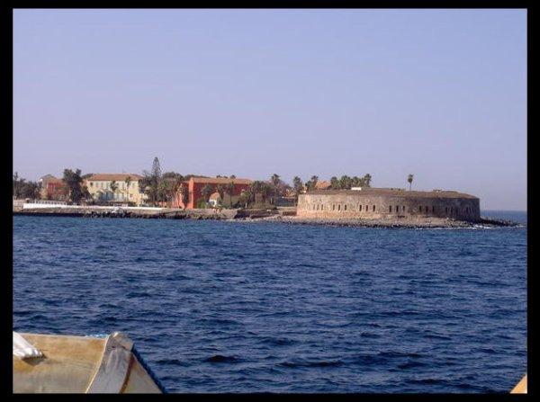 plage de ile gorée