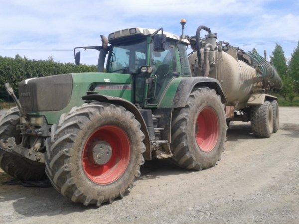 Fendt 920 et tonne Pichon 18000L