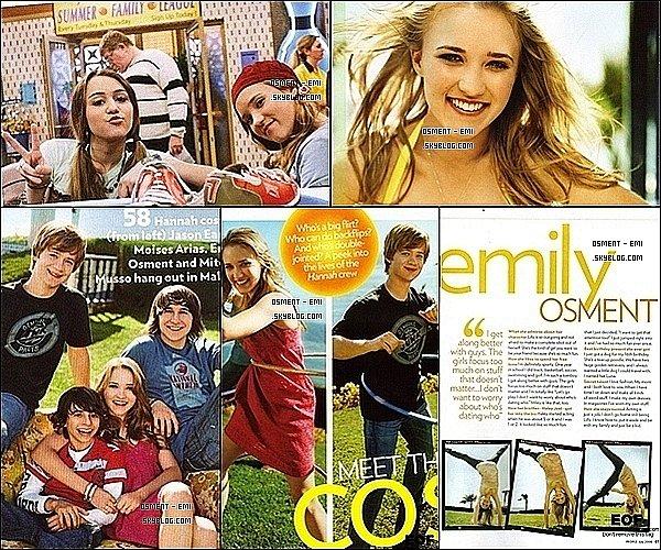 . Nouveaux scans du magazine People datant de Juillet 2008.____C'était le bon vieux temps ;) .