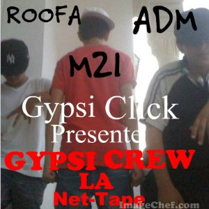 Cover & Tracklist : GYPSI CREW La Net-Tape