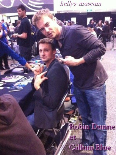 Armageddon-October 23rd 2011: Robin Dunne Panel (Amanda Tapping Crashes)