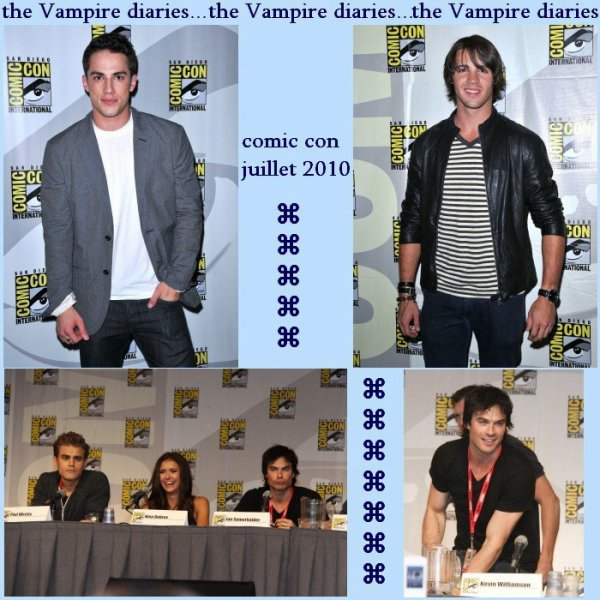 The Vampire Diaries comic con juillet 2010