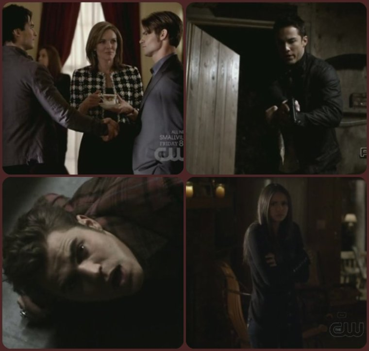 "The Vampire Diaries ,2 X 14 "" Crying wolf"""