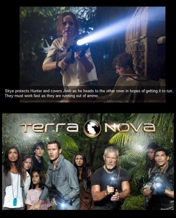 Terra Nova , ep 1 & 2 Genesis