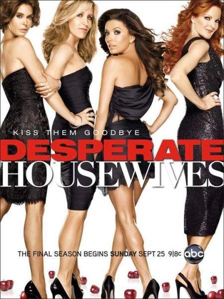 DESPERATE HOUSEWIVES SAISON 8 la dernière... vidéos promo ep 1 à 4