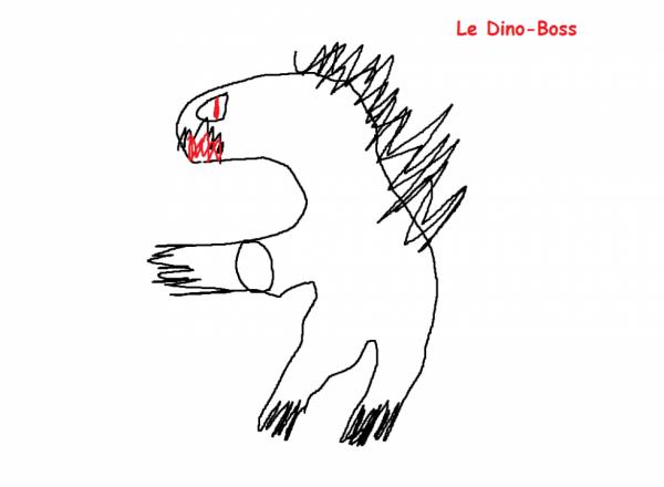 Le dino-boss