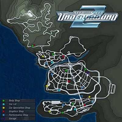 Liste des voitures de Need For Speed Underground 2