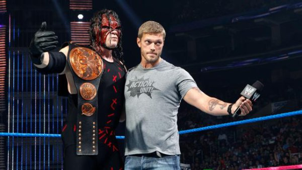 """""""Gros Calin"""" entre Edge et Kane"""