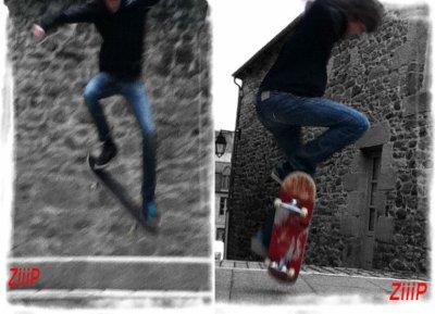 le skate ...