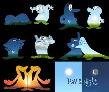 « Jour et Nuit »