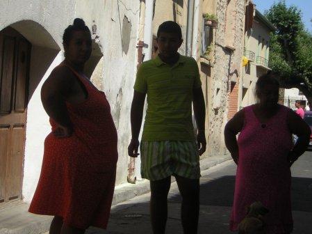 Mon cousin Santino quand il est reparti a Monpelier