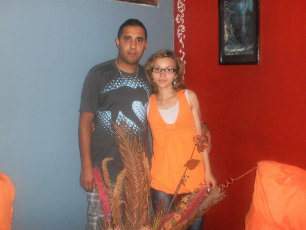 Fateh et moi