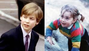 Kate et William enfants