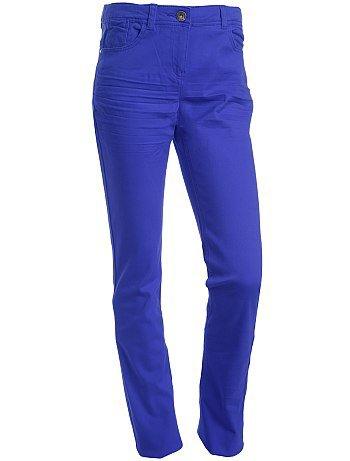 Pantalon slim bleu électrique 10/16 ans