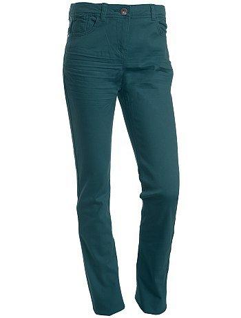 Pantalon slim bleu foncé 10/16 ans