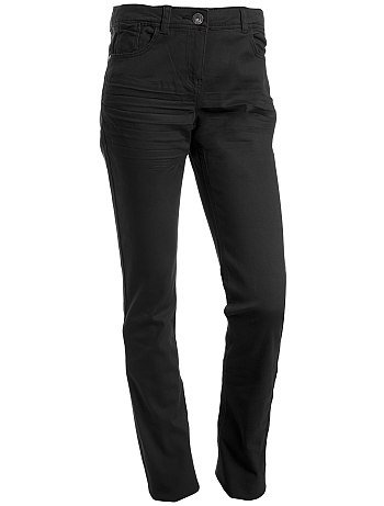 Pantalon slim noir 10/16 ans
