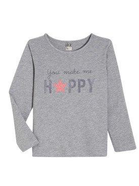 Tee - Shirt à manches longues gris avec motif imprimé 2/14 ans