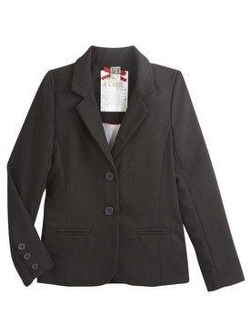 Veste noire avec boutons et poches 2/14 ans