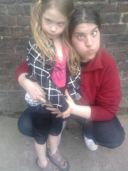 ma fille et moi lol