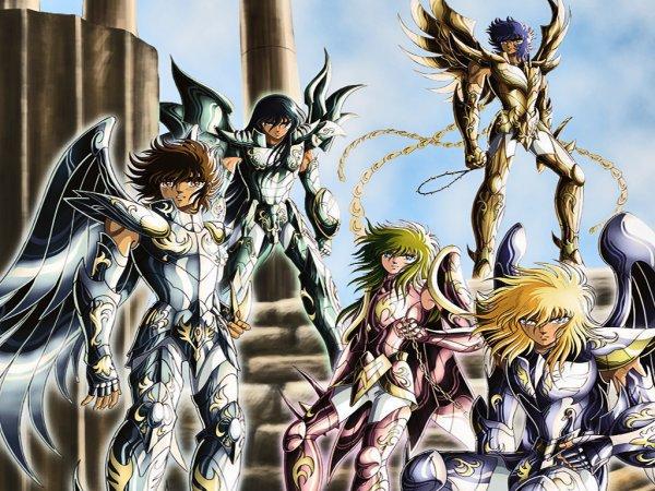 Les chevaliers et leurs armures divine