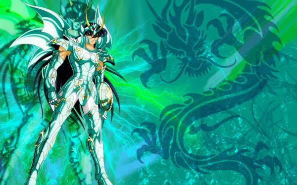 Shiryu et son armure divine
