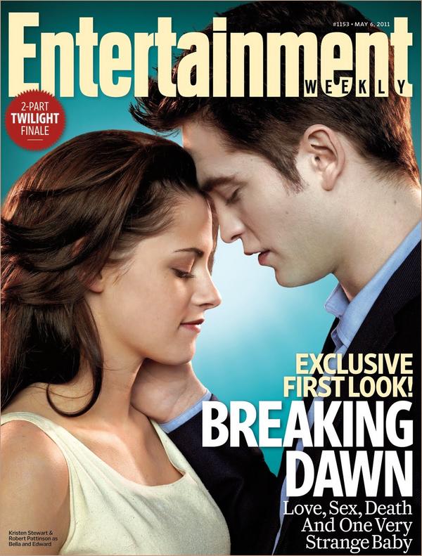 .  Pour notre plus grand plaisir, encore des image de Breaking Dawn sont apprue ! Dont la couverture de Entertainment Weekly ou Bella et Edward apparaisent ensemble !! Vos avis ?   .