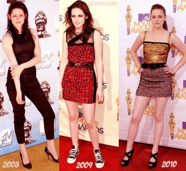 .  Le 5 Juin aura lieu les MTV Movie Awards 2011,  Kristen sera-t-elle présente ?! Comment imaginez vous sa tenue?     .