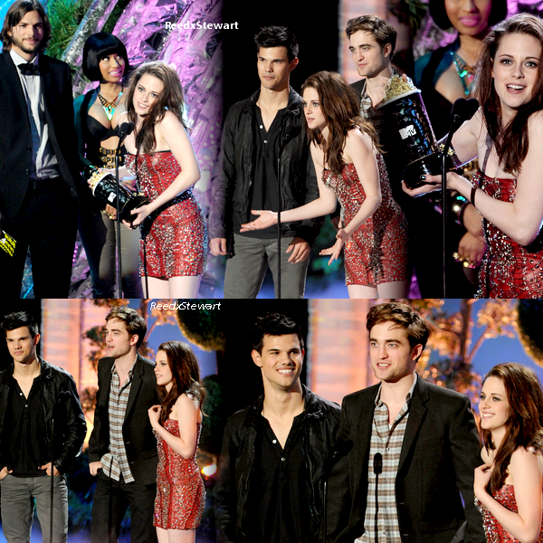 .  6 Juin 2011 :  Kristen, Robert, Taylor ainsi que le Cast était présent au MTV Movie Awards 2011   .