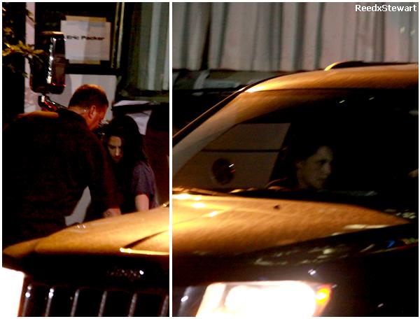 .  7 Juillet 2011 Kristen était sur le set de Cosmopolis là ou se trouve Robert !!! Affaire à suivre !      .