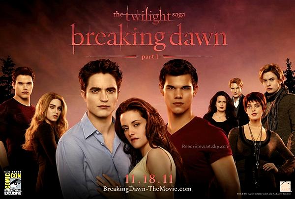.  Le poster de Breaking Dawn  en HQ ! Quels sont vos avis ?     .