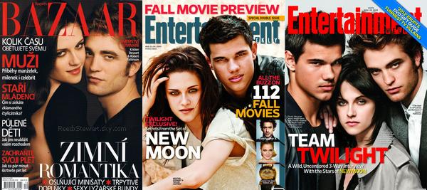 .  Kristen a fait de nombreuses couverture de Magazines ! En solo ou avec ses co-star de Twilight ! Une préférence ? Vos avis ? Photoshop est passer par là ?     .
