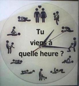 ton heure et la mienne